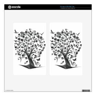 The_Music_Tree Kindle Fire Skin