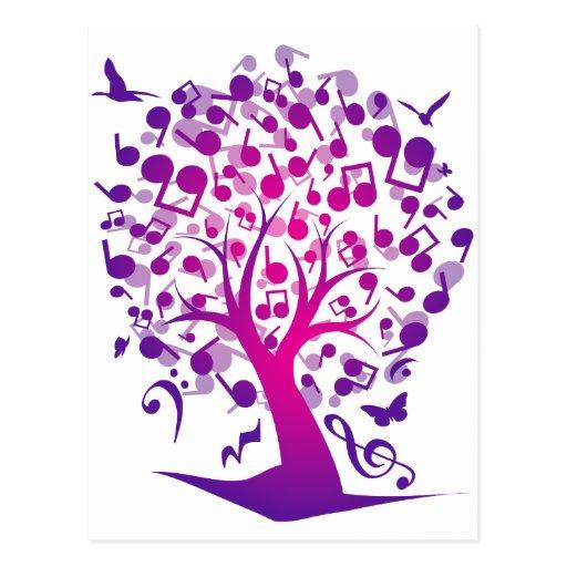 The_Music_Tree Postales
