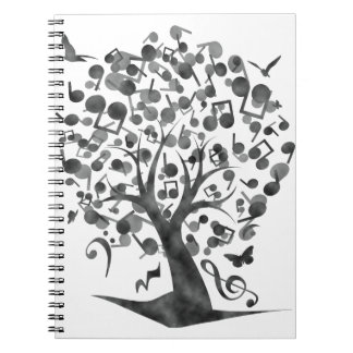 The_Music_Tree Spiral Notebook