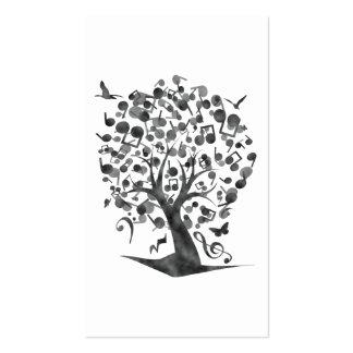 The_Music_Tree Tarjetas De Visita
