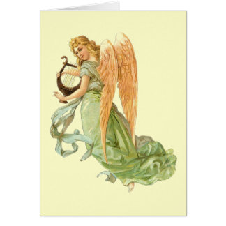 The Musical Angel Card