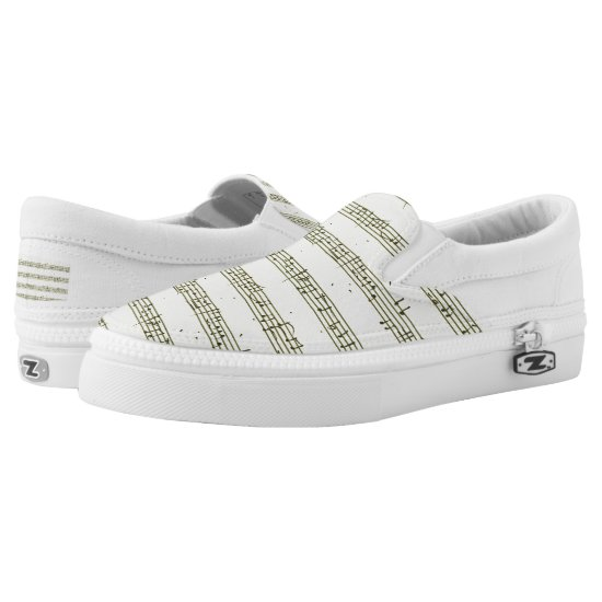 The musical palette Slip-On sneakers