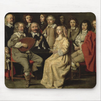 The Musical Reunion, 1642 Mouse Pad