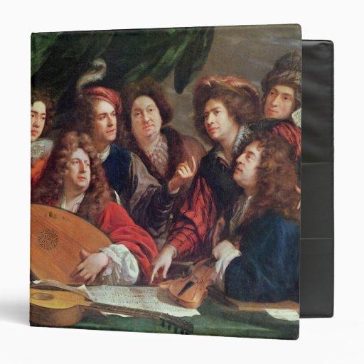 The Musical Society, 1688 Vinyl Binder
