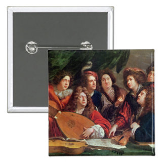 The Musical Society, 1688 Button