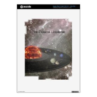 The Musical Universe iPad 3 Skin