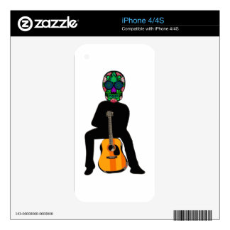 The Musician Decal For iPhone 4