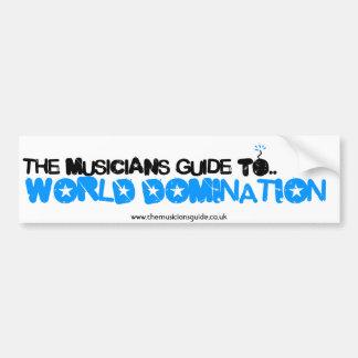 The Musician's Guide Bumper Sticker