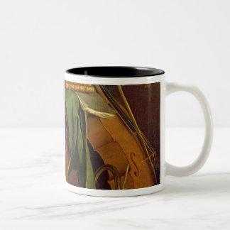 The Musician's Table, c.1760 Two-Tone Coffee Mug