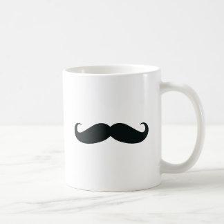 The Mustache Designs Classic White Coffee Mug