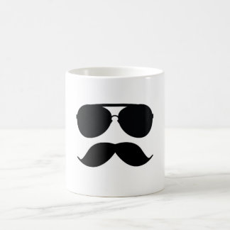 The Mustache Man Coffee Cup