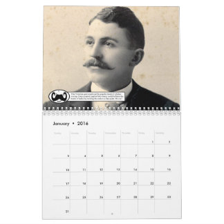 The Mustaches of Placer County Calendar