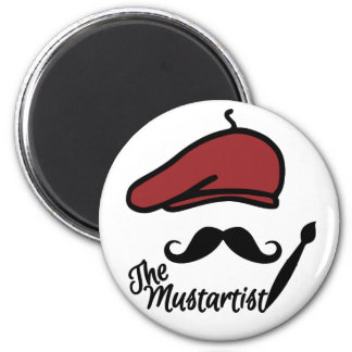 The Mustartist magnet
