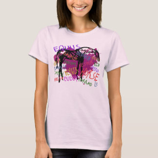 The Mutilingual Horse T-Shirt