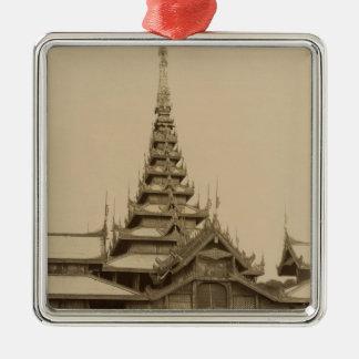 The Myei-nan or Main Audience Hall Metal Ornament