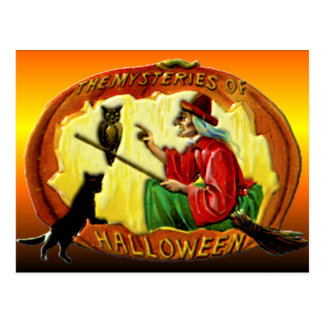 The Mysteries of Halloween Postcards