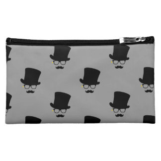 The Mysterious Man Pattern Art Cosmetic Bag