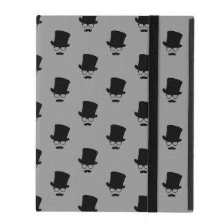 The Mysterious Man Pattern Art iPad Case
