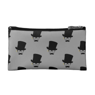The Mysterious Man Pattern Art Makeup Bag