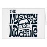 The Mystery Machine Logo 16 Greeting Card