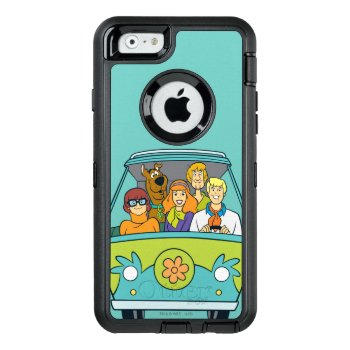 The Mystery Machine Otterbox Defender Iphone Case by scoobydoo at Zazzle