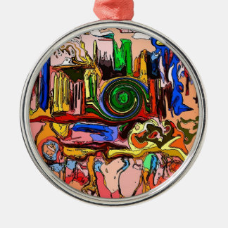 """The Mystery Machine"" Premium Round Ornament"