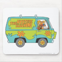 The Mystery Machine Right Side Mouse Pad
