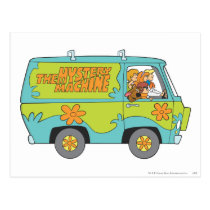 The Mystery Machine Right Side Postcard