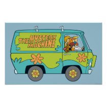 The Mystery Machine Right Side Poster