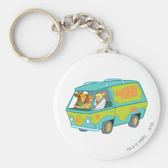 The Mystery Machine Shot 12 Keychain
