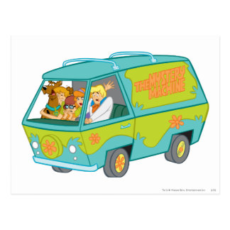 The Mystery Machine Shot 12 Postcard
