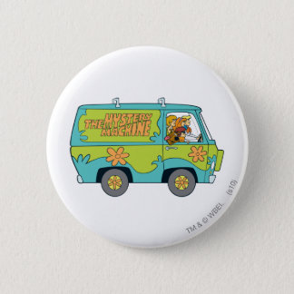 The Mystery Machine Shot 13 Pinback Button