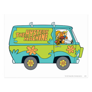 The Mystery Machine Shot 13 Postcard