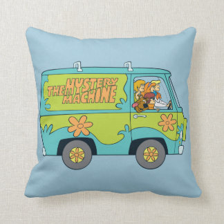 The Mystery Machine Shot 13 Throw Pillow