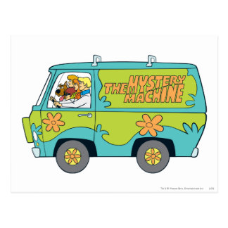 The Mystery Machine Shot 14 Post Cards