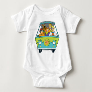 The Mystery Machine Shot 16 Baby Bodysuit