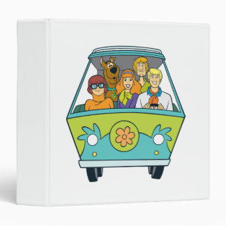 The Mystery Machine Shot 16 Binder