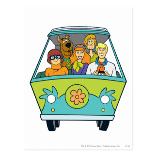 The Mystery Machine Shot 16 Post Card