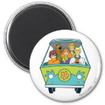 The Mystery Machine Shot 16 Refrigerator Magnets