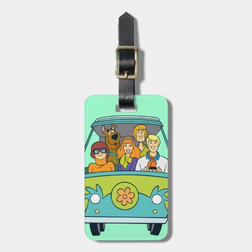 The Mystery Machine Shot 16 Tags For Bags
