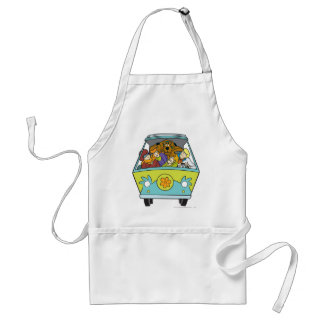 The Mystery Machine Shot 18 Adult Apron