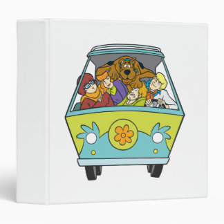 The Mystery Machine Shot 18 Binder