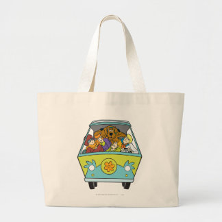 The Mystery Machine Shot 18 Large Tote Bag