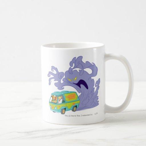The Mystery Machine Shot 20 Classic White Coffee Mug