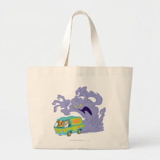 The Mystery Machine Shot 20 Large Tote Bag