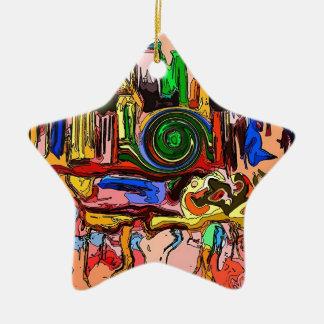 """The Mystery Machine"" Star Ornament"