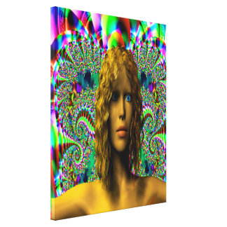 The Mystery of Chaos Canvas Prints