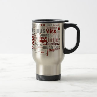 The Mystery of Edwin Drood 15 Oz Stainless Steel Travel Mug