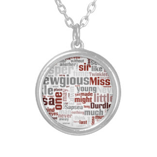 The Mystery of Edwin Drood Round Pendant Necklace
