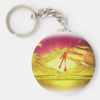 The Mystery of the Blood Keychain
